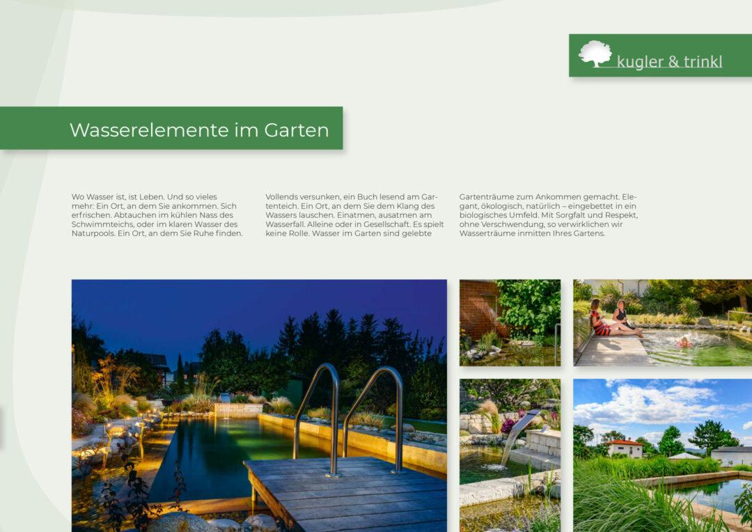 Gartenträume - Textierung und Storytelling kreativwolke